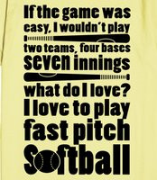 Love Fastpitch Softball Quotes