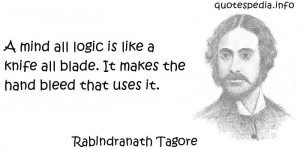 Famous quotes reflections aphorisms - Quotes About Logic - A mind all ...