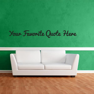 custom quote wall decal $ 35 00 don t see your favorite quote type it ...