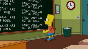 Bart Simpson at the Blackboard (70 pics) - Picture #29