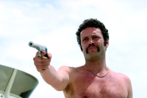 """Vince Vaughn starring as the villain in the film """"Starsky & Hutch ..."""