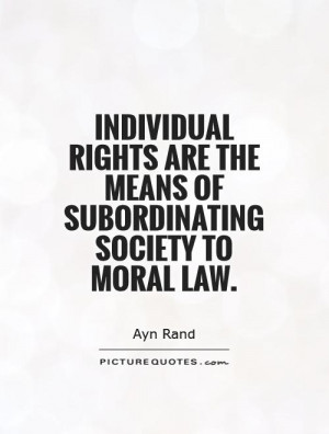 Individual Rights Quotes