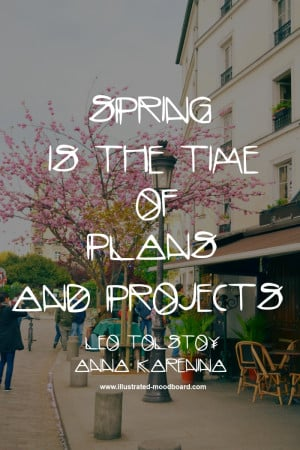 Famous quotes about spring on inspirational pictures of Paris