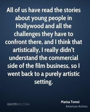 More Marisa Tomei Quotes