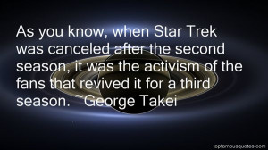 As you know, when Star Trek was canceled after the second season, it ...