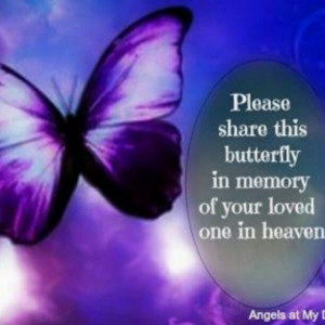 Loved one in heaven