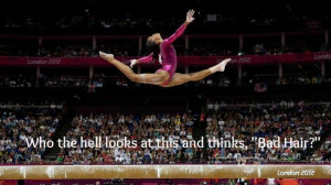 The Best Quotes About The Gabby Douglas Hair Issue