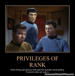 Star Trek: Privileges of rank