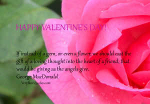 Friendship quotes for Happy Valentine's Day, Happy Valentine's Day