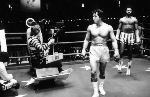 STALLONE STARTED WRITING ROCKY OUT OF DESPERATION
