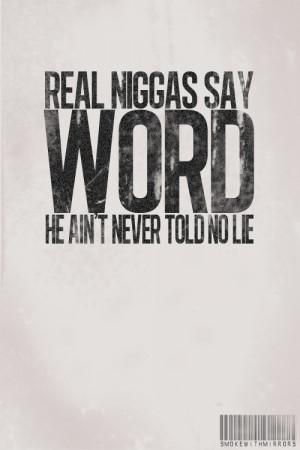 No Lie.