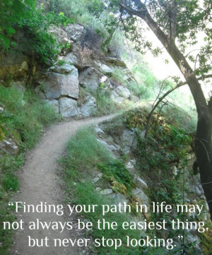 finding your path in life