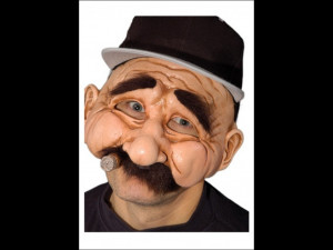 Stan the Man Mask - Funny Old Man Mask