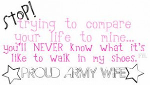 Wife Friendship Quotes | Proud Army Wife Graphics Code | Proud Army ...