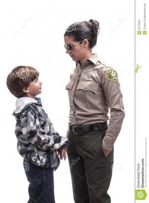 Confronted Female