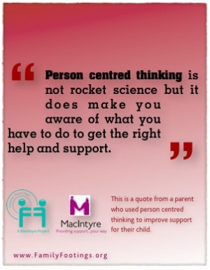 Person centred thinking is not rocket science but it does make you ...