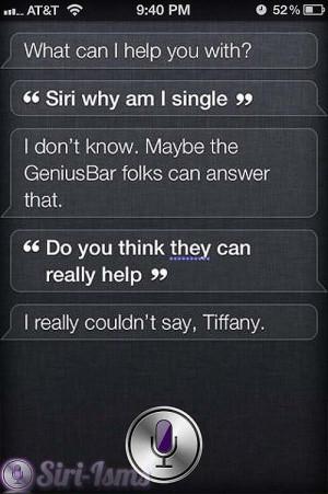 Siri, Why Am I Single? - Siri Says