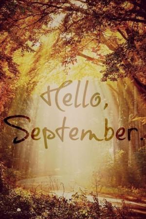 Hello September !