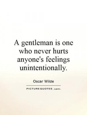 Oscar Wilde Quotes Gentleman Quotes