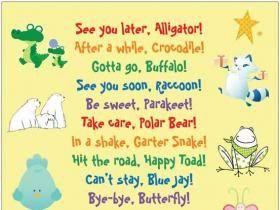 Cute Goodbye Sayings