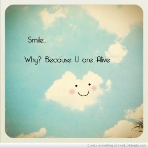 , beautiful, cute, life, love, pretty, quote, quotes, smile, smile ...