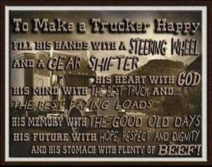 Happy Trucker