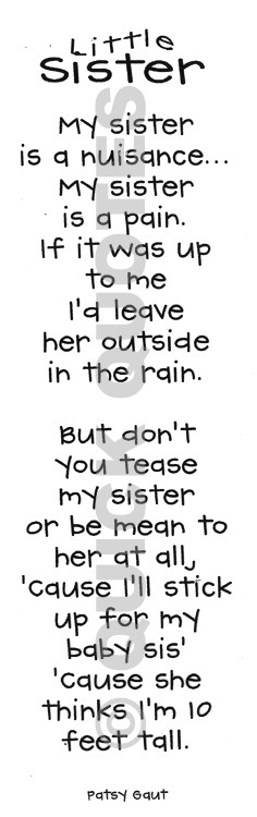 Sisterly Love Quotes And Poetry. QuotesGram