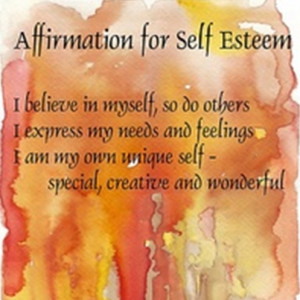 DAILY AFFIRMATIONS - SELF-ESTEEM