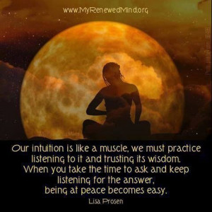 Intuition is... #Personal Leadership #Women