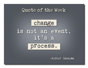 great quote about change!