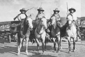 Irwin Cowgirls, Pauline, Joella, Gladys, Edith