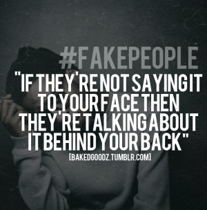 Quotes About Fake People Tumblr