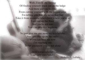 Lullaby-nickelback