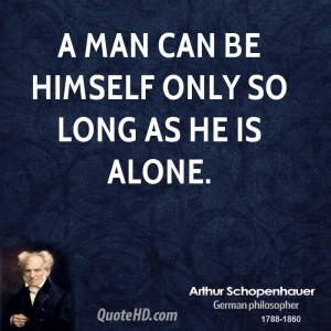Arthur Schopenhauer Quote