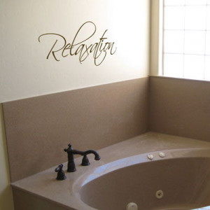 Home » Quotes » Relaxation - Peaceful - Wall Words & Decals