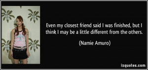 More Namie Amuro Quotes