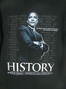 ... -Obama-Americas-44th-President-Sz-M-Shirt-America-Can-Change-Quote-Q9