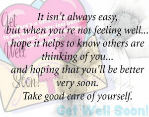 Get Well Soon Quotes, Wishes, Messages & Cards