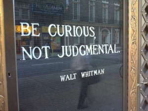 Be Curious Not Judgmental Walt Whitman