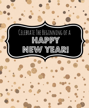 Celebrate The New Year Printable
