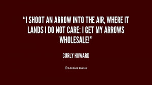 Quotes by Curly Howard