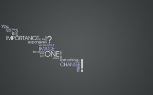 quotes typography change grey background 1920x1200 wallpaper Knowledge ...