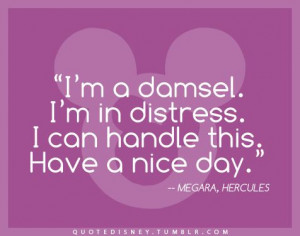 Disney quote. Meg, Hercules