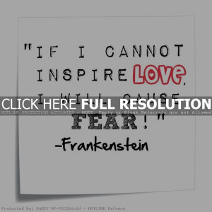 frankenstein quotes 4