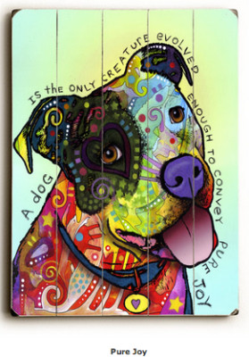 Pitbull Art: A Dog is the Only Creature Evolved Enough to Convey Pure ...