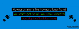 Sister Quote, Sister Quotes, Sister, Quote, Quotes, Family, Families ...