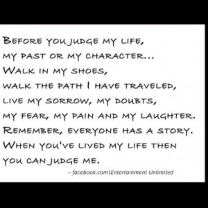 Not Judging Others Picfly