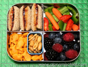 Healthy & Creative Kids School Lunch – Bento Box style
