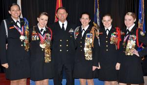 Oviedo High School's ALL GIRL JROTC Marksmanship Team wins the Navy ...