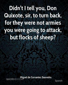 Quixote Quotes